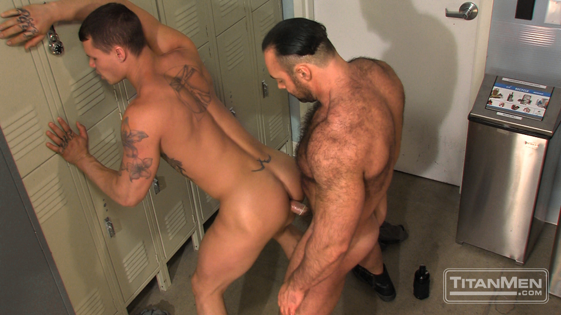 otla scene02 022 Hung Hairy Muscle Corrections Officer Fucks A Smooth Hung Muscle Inmate