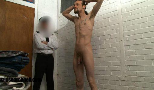 jail strip nude fuck