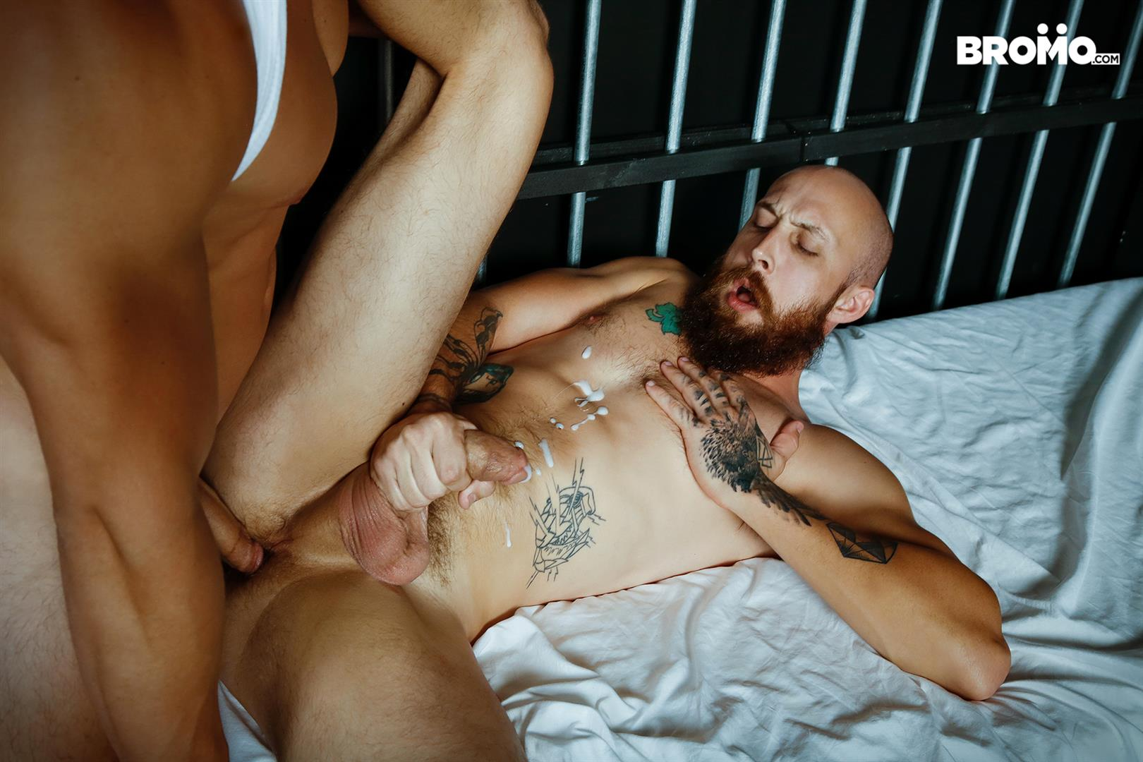 Bromo-Axel-Kane-and-Dustin-Steele-Big-Dick-Redneck-Gets-Bareback-Fucked-24 Redneck Dustin Steele Gets His Hairy Ass Barebacked By Axel Kane